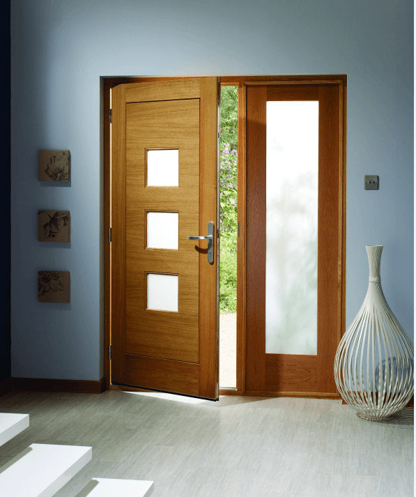 External Doors and Sidelights - Oakwood Doors and Spray Finishes
