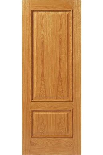 Oak Internal Fire Door 12 MN with Raised Mouldings Un finished