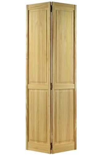Internal Bifold Door Clear pine 4P Untreated Discontinued Check stock levels