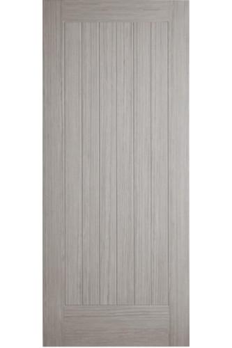 Internal Fire Door Light Grey Stained Somerset