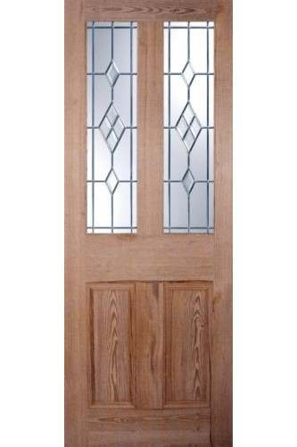 Internal Door Nostalgia Pitch Pine Malton Unglazed with Glass Pack Option