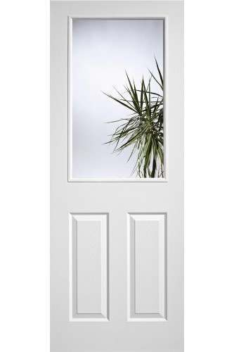 Internal Door White Moulded Textured 1L 2P LPD