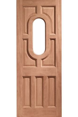 XL External Doors Hardwood Acacia Unglazed Dowelled