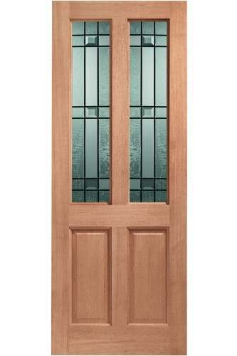 XL External Doors Hardwood Double Glazed Malton Drydon Dowelled