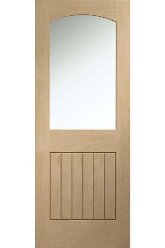 Internal Door Oak Sussex Glazed Front