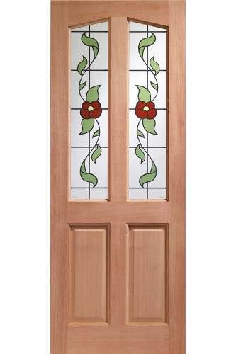XL External Door Hardwood Richmond Keats Glass M&T - - INTENDING TO DISCONTINUE PLEASE RING OFFICE TO CHECK AVAILABILITY