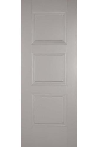 Internal Door Grey Amsterdam 3 Panel Primed NEW PRODUCT