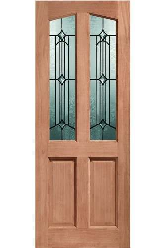 XL External Door Hardwood Double Glazed Richmond Donne M and T