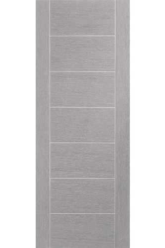 Internal Door Light Grey Stained Palermo Prefinished