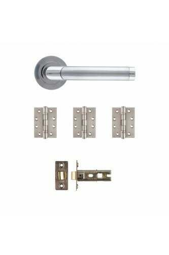 AUGUSTUS MATT / POLISHED CHROME HANDLE PACK - Call to check stock before ordering as low stock