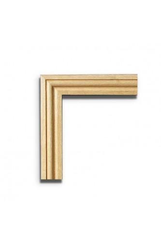 Internal Door Pair Oak Architrave Set Ogee Profile Untreated XL