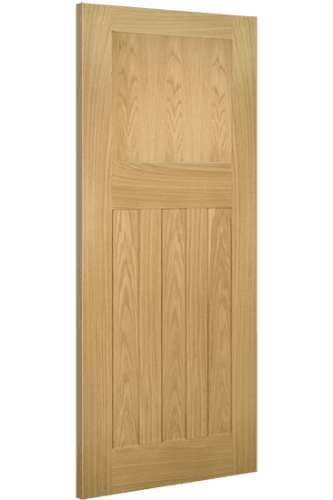 Internal Door Oak Cambridge 1930 4 Panel Untreated SPECIAL OFFER!
