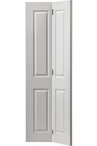 Internal Bi Fold Door White Moulded Canterbury