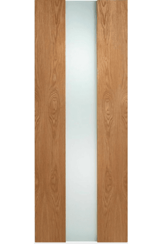 Internal Door Oak Zaragoza with Obscure Glass Prefinished - Check availability prior to ordering