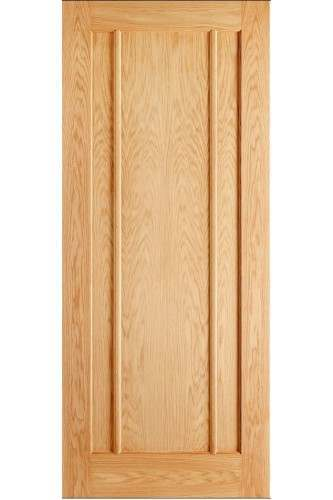 Internal Door Oak Lincoln 3 Panel Prefinished