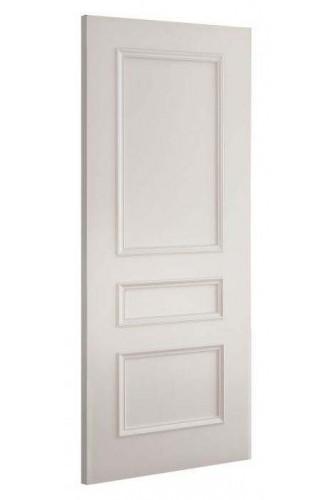 Internal Fire Door White Primed windsor 3 Panel with RM
