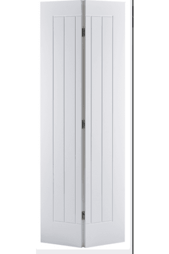 Internal Bifold Door White Primed Mexicano  (lpd)