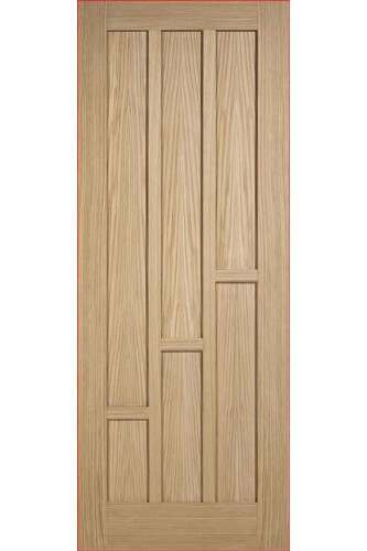 Fire Door Coventry 6 Panel Oak COVOAKFC