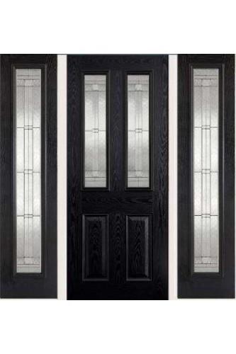 External GRP Malton Black with Elegant Glass