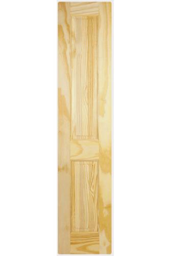 Internal Half Door Clear Pine 2 Panel Untreated