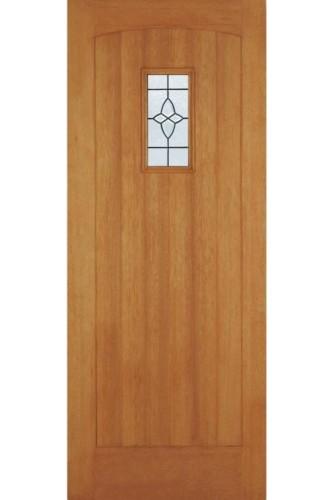 External Door Hardwood Cottage IG Lead Double Glazed Untreated