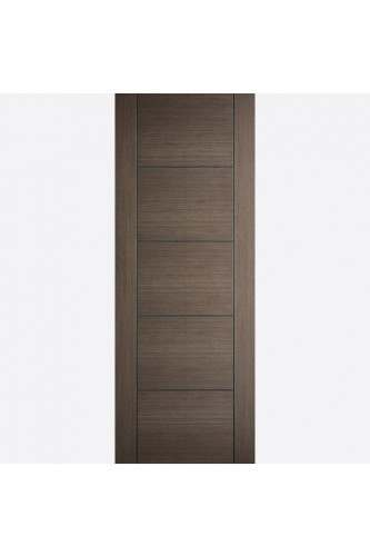Internal Fire Door Chocolate Grey Vancouver Pre Finished