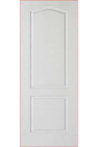 Internal Fire Door White Primed  Textured Moulded Classical 2 Panel lpd