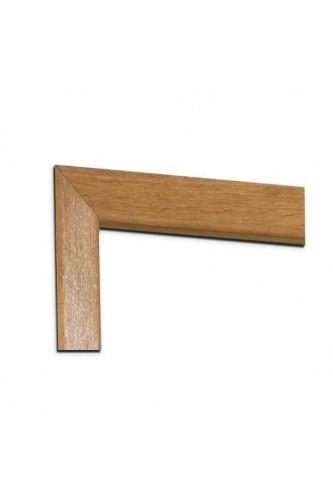 Internal Door Pair Oak Architrave Set Modern Profile Untreated XL