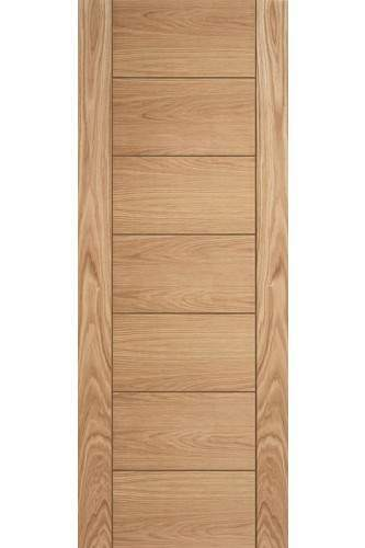 Internal Fire Door Particle Board Core Oak Corsica Prefinished