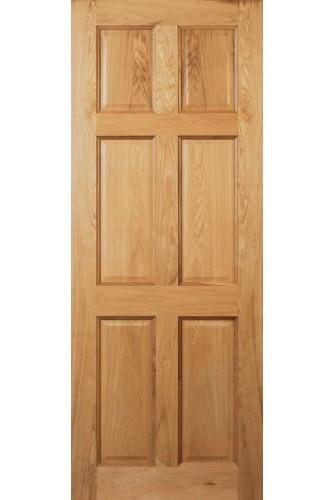 Internal Door Oak Oxford Prefinished