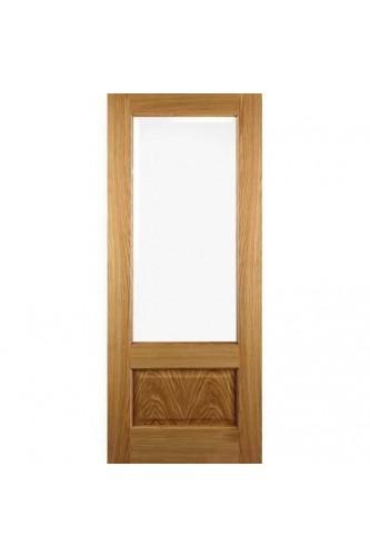 Internal Door Oak Chiswick Glazed Prefinished