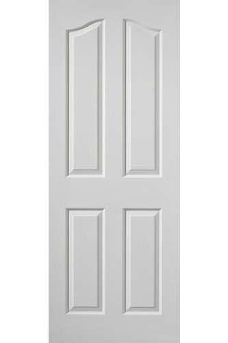 Internal Door White Moulded Edwardian