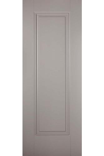 Internal Fire Door Grey Eindhoven 1 Panel Primed Plus