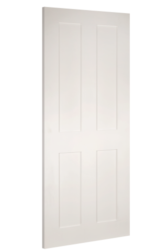 Internal Fire Door White Primed Eton 4 Panel