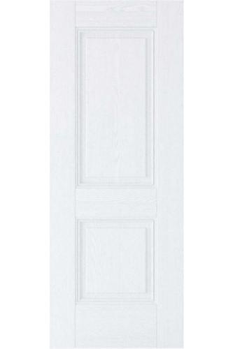 Internal Fire Door White Primed Arnhem 2 Panel GRAINED