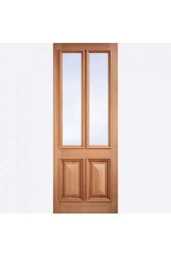 External Door Hardwood Islington Clear Glazed Untreated M & T Discontinued