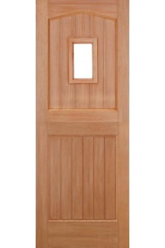 External Door Hardwood Sterling Barnburgh Stable 1 Light M&T Unglazed Untreated