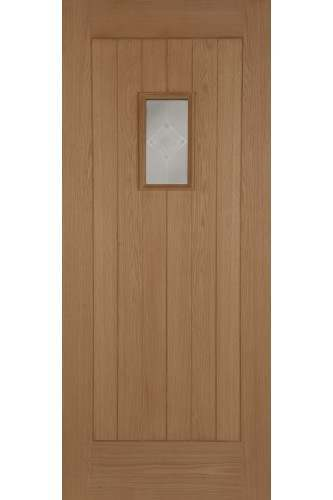 External Oak Door Part L Compliant Hillingdon