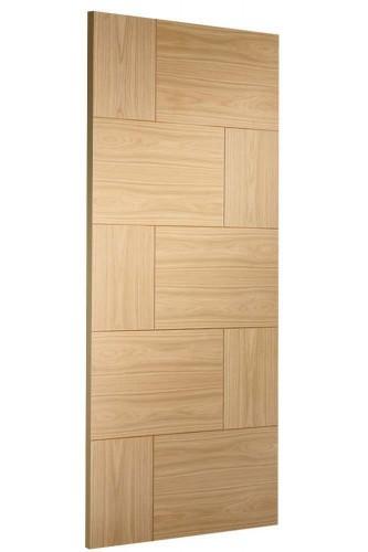Internal Door Oak Ravenna Side On Image