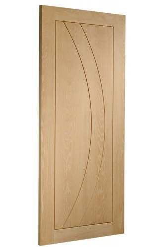 Internal Fire Door Oak Salerno Untreated