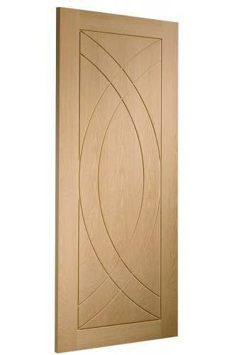 Internal Door Oak Treviso Untreated - CLEARANCE - 1 x 24""