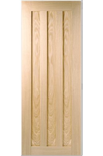 Internal Door Oak Idaho 3 Panel Prefinished