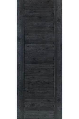 Internal Fire Door Laminate Dark Grey Walnut Wood Effect Alabama Cinza Prefinished