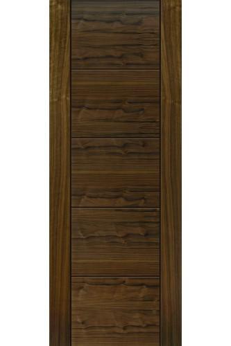 Internal Door Walnut Tigris Prefinished