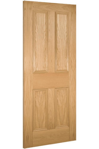Kingston 4 Panel Deanta Oak Door
