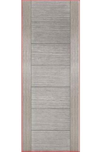 Internal Fire Door Light Grey Stained Veneer Corsica Particle Board Core Prefinished