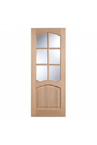 Internal Door Oak Riviera Non Raised Moulding Unfinished LPD 10 + for further discount