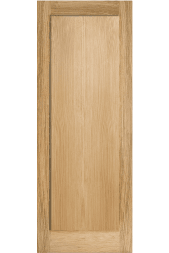 Internal Fire Door Oak Pattern 10 One Panel Untreated