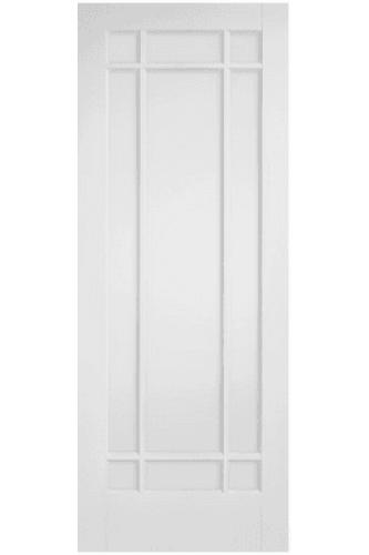 Internal Fire Door Solid White Primed Manhattan