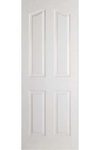 Internal Door White Primed Moulded Mayfair 4 Panel LPD SPECIAL OFFER